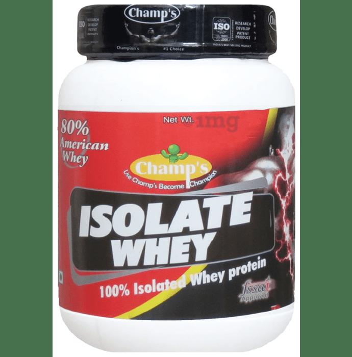 Champ's Isolate Whey Protein Powder Vanilla