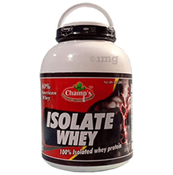 Champ's Isolate Whey Protein Powder Chocolate Brownie