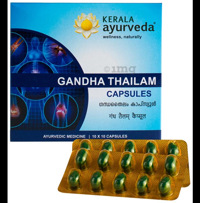 Kerala Ayurveda Gandha Thailam Capsule