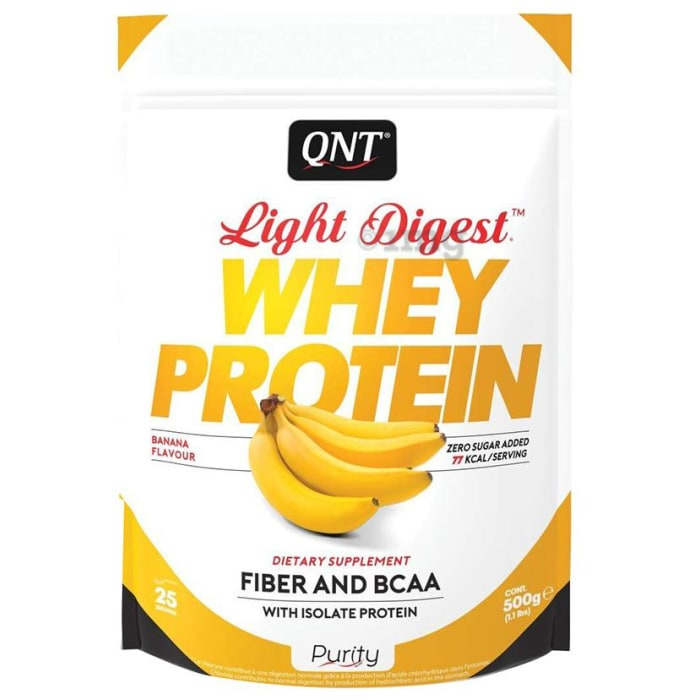 QNT Light Digest Whey Protein Banana