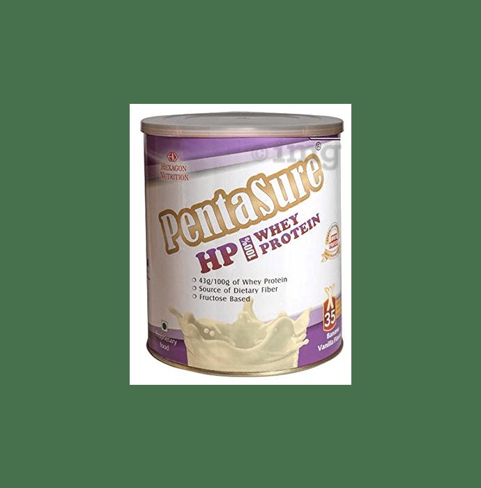 PentaSure HP 100% Whey Protein Powder Banana Vanilla