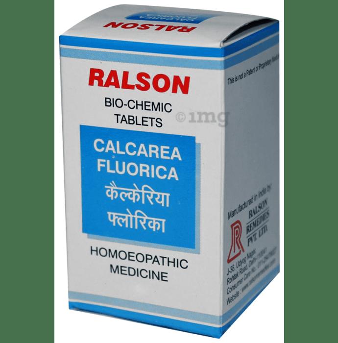 Ralson Remedies Calcarea Fluorica Biochemic Tablet 200X