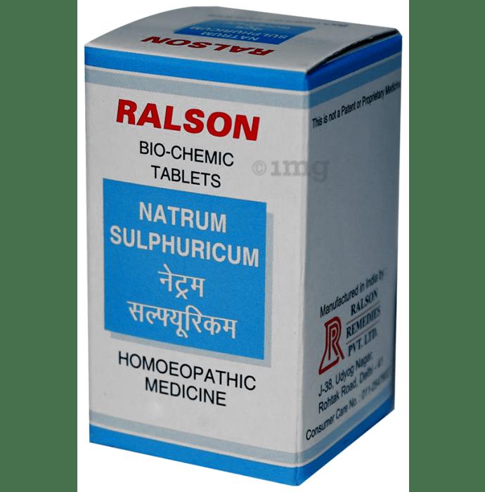 Ralson Remedies Natrum Sulphuricum Biochemic Tablet 6X