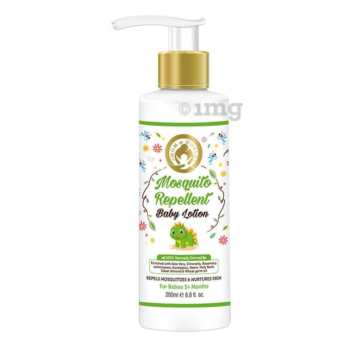 Mom & World Mosquito Repellent Baby Lotion