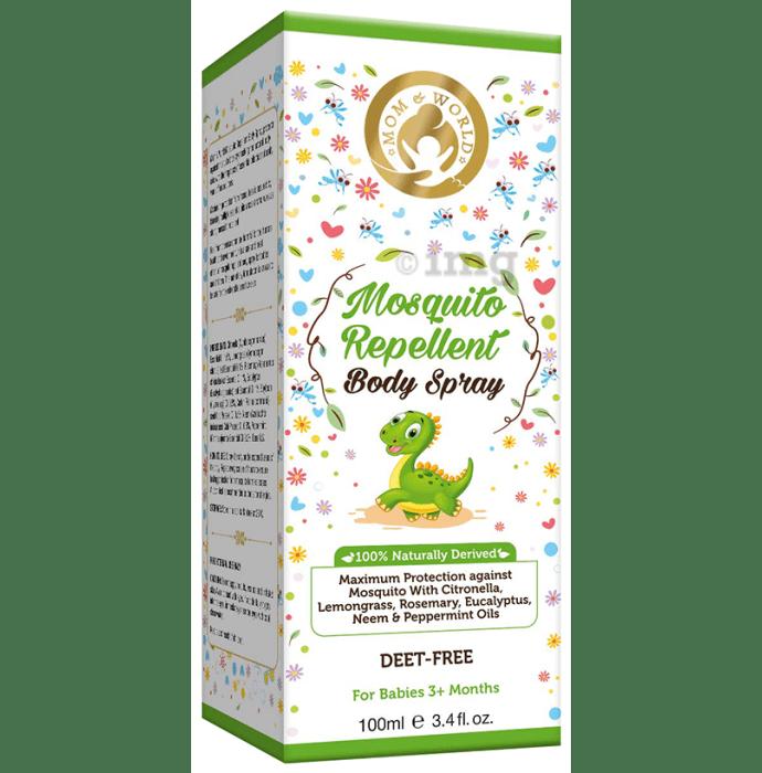 Mom & World Mosquito Repellent Body Spray