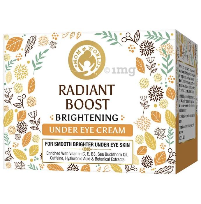 Mom & World Radiant Boost Under Eye Cream