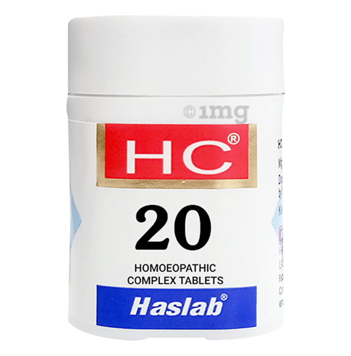 Haslab HC 20 Nux Vomica Complex Tablet