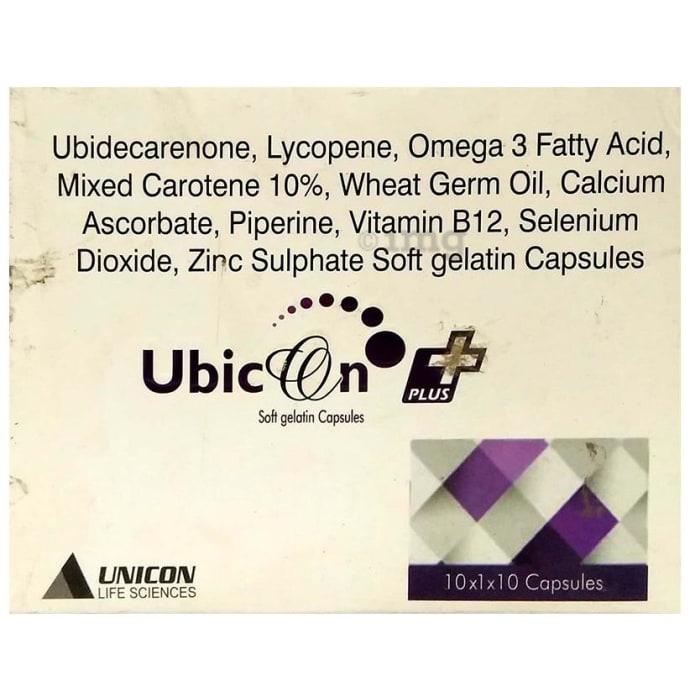 Ubicon Plus Soft Gelatin Capsule