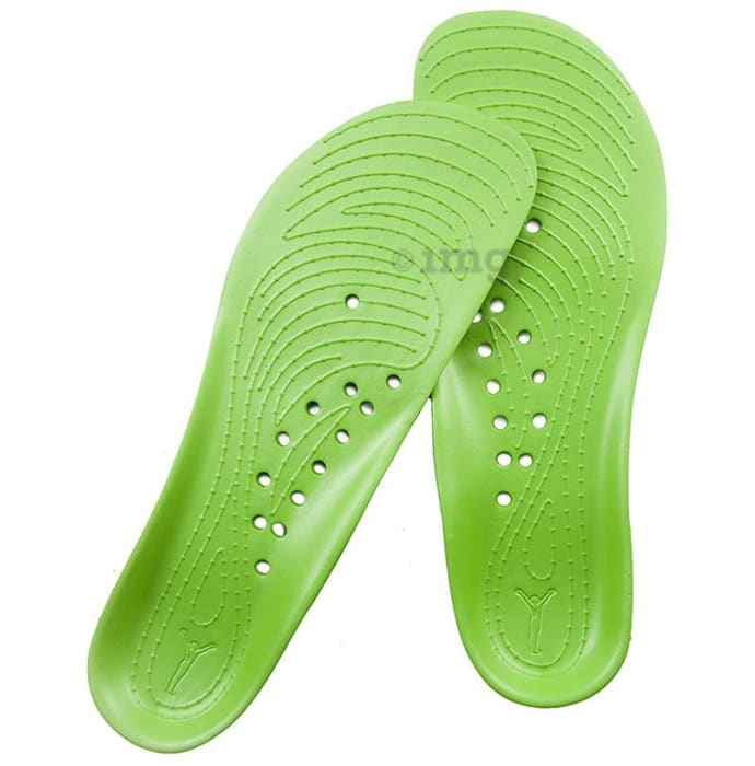 Backjoy Stand Right Comfort Soles for Men M9 Lime Green
