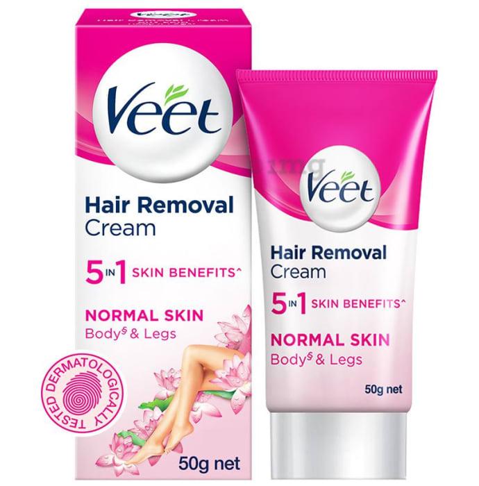 Veet 5 in 1 Skin Benefits Hair Removal Cream Normal