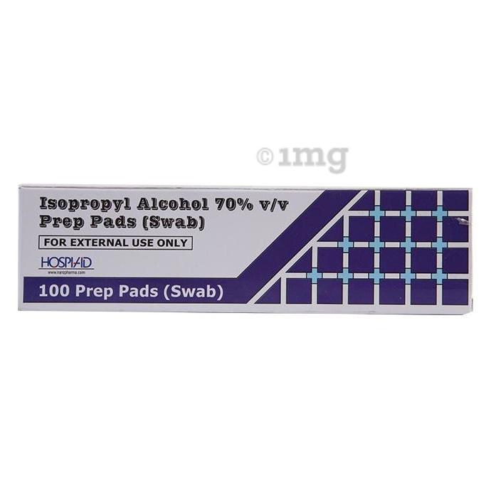 Nanz Med Science Isopropyl Alcohol 70% Prep Pads (Swab)