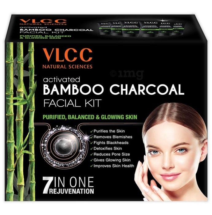 VLCC Natural Sciences Activated Bamboo Charcoal Facial Kit