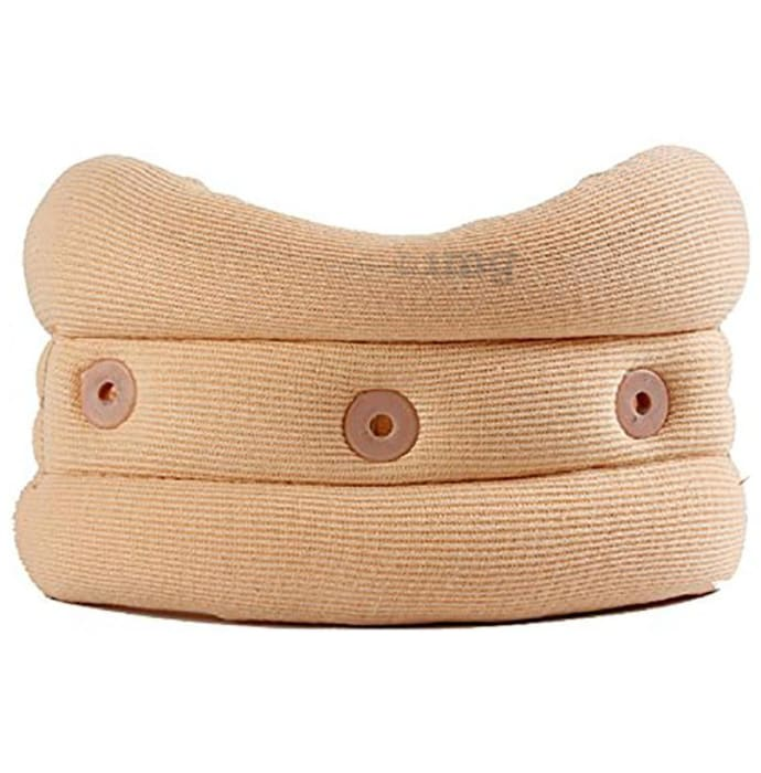 Witzion Cervical Soft Collar Firm Density Neck Support Small Beige