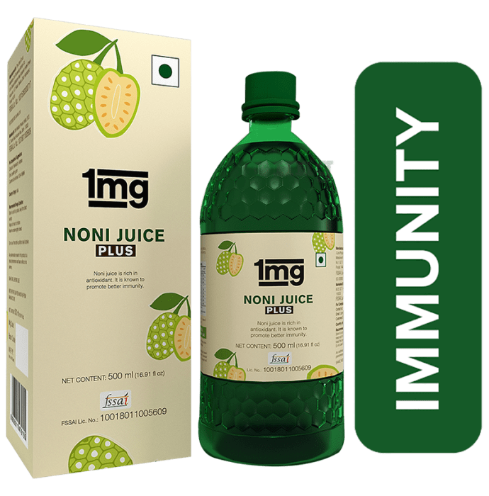 1mg Noni Juice Plus Immunity Booster & Joint Health Support Rich in Antioxidants
