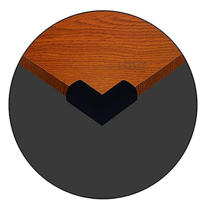 Safe-O-Kid High Density L-Shaped Nbr Corner Cushions Small Black