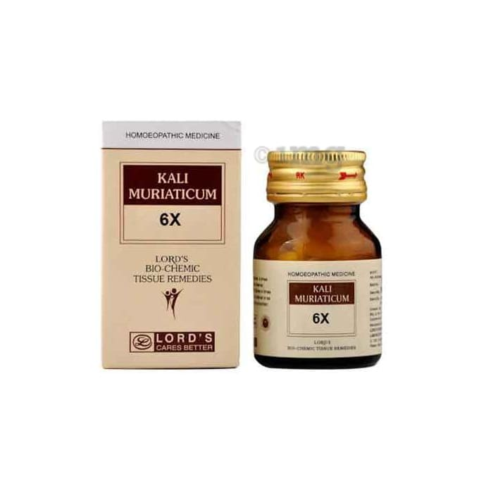 Lord's Kali Mur Biochemic Tablet 6X