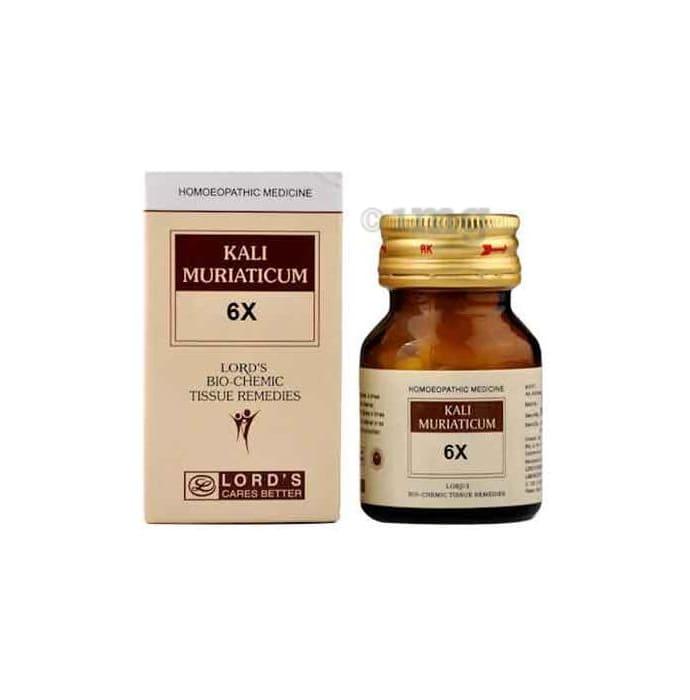 Lord's Kali Mur Biochemic Tablet 6X