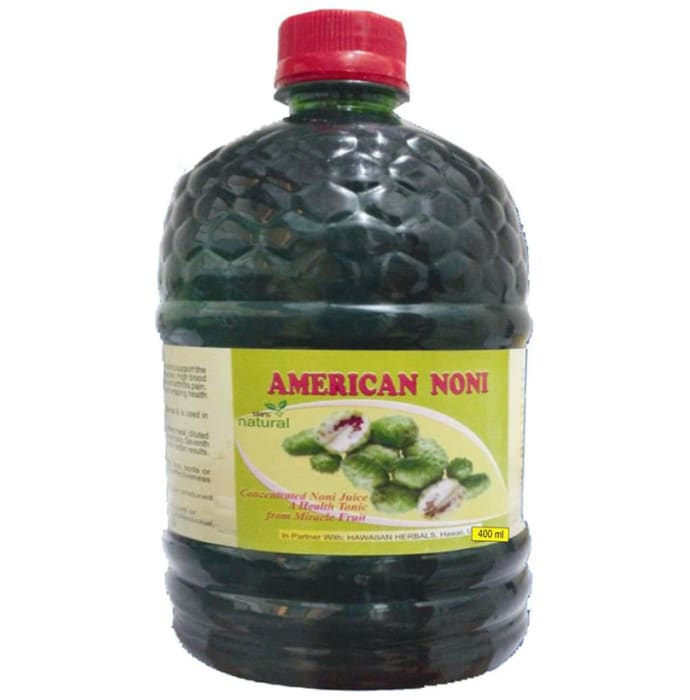 Hawaiian Herbals American Noni Juice with American Noni Drops 30ml Free