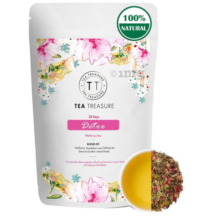 Tea Treasure 28 Days Detox Wellness Tea