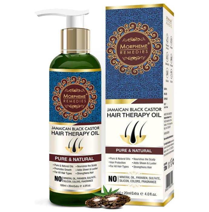 Morpheme Remedies Jamaican Black Castor Hair Therapy Oil