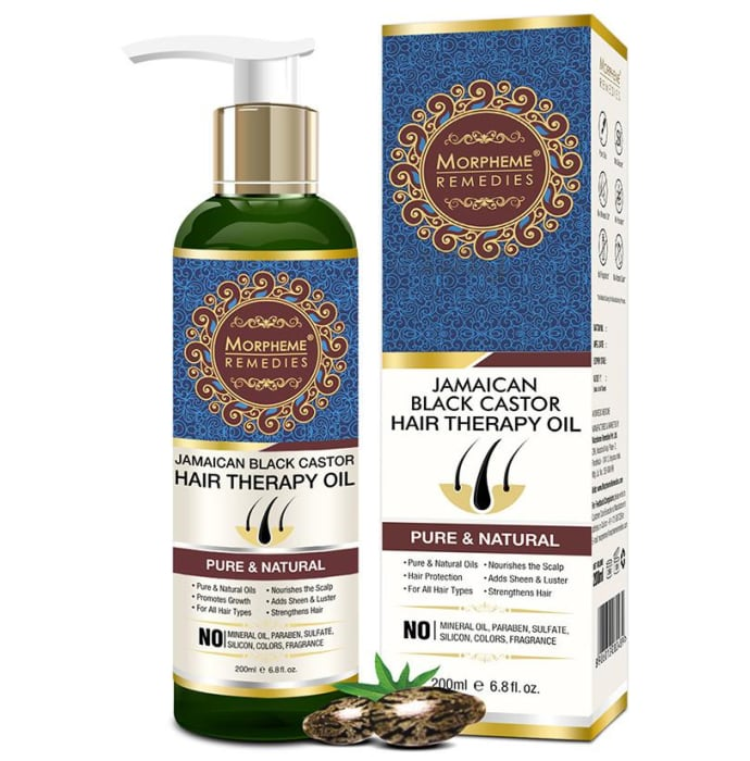 Morpheme Remedies Jamaican Black Castor Hair Therapy Oil