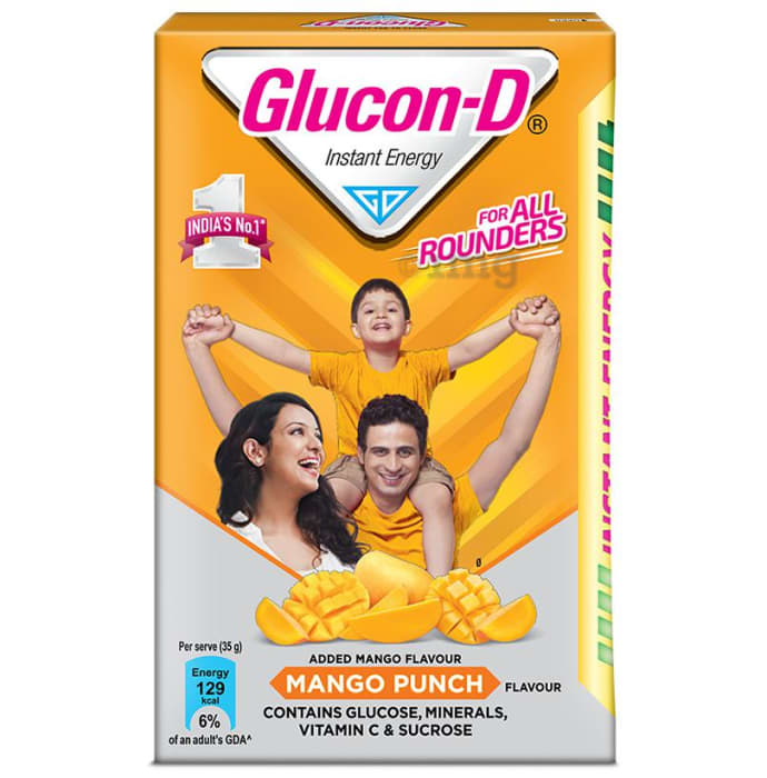 Glucon-D Instant Energy Health Drink Mango Punch