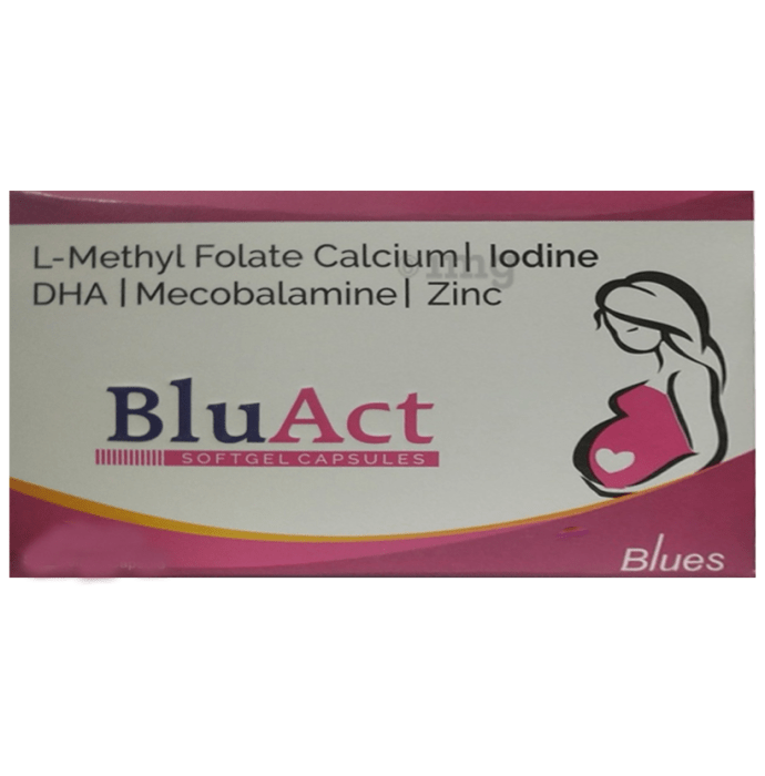 Bluact Softgel Capsule