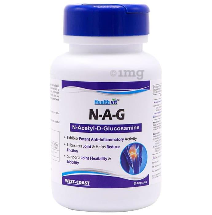 HealthVit N-A-G  N-Acetyl-D-Glucosamine Capsule
