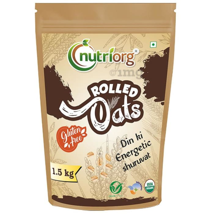 Nutriorg USDA Certified Rolled Oats