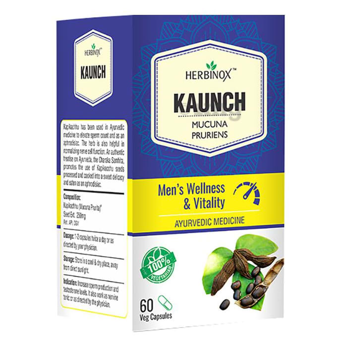 Herbinox Kaunch Veg Capsule
