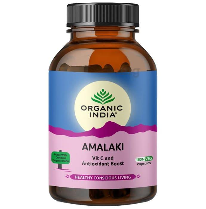 Organic India Amalaki Veg Capsule