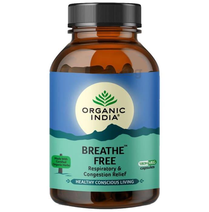 Organic India Breathe Free Veg Capsule