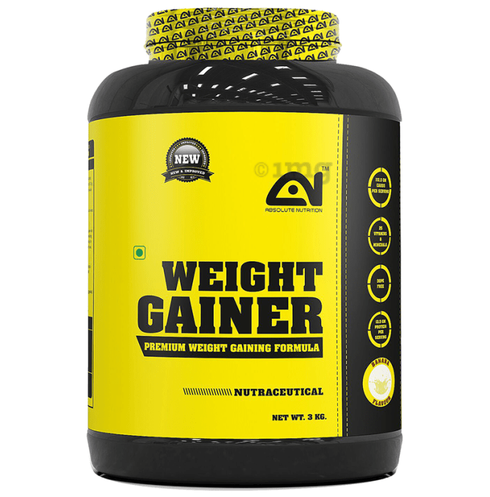 Absolute Nutrition Weight Gainer Banana