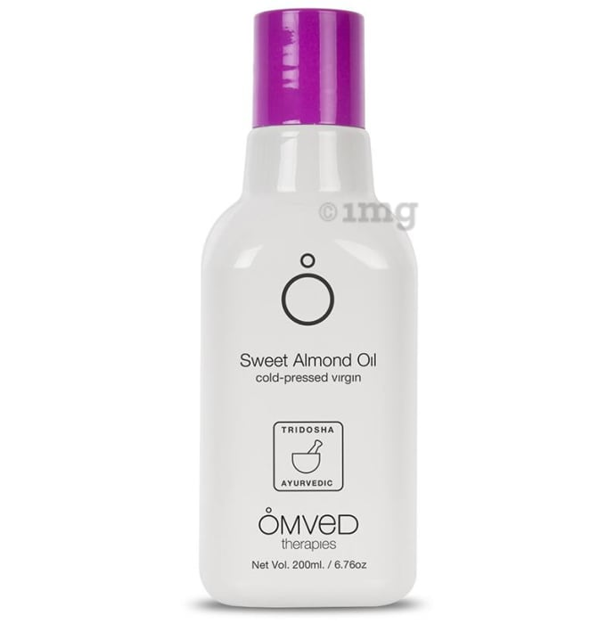 Omved Therapies Cold Pressed Virgin Sweet Almond Oil