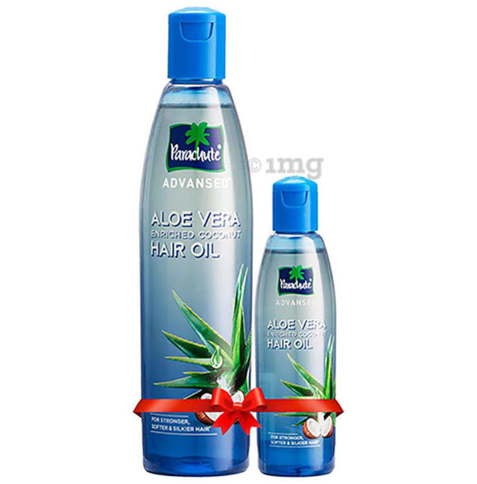 Parachute Advansed Aloe Vera Enriched Coconut Hair Oil 250ml with 75ml Free