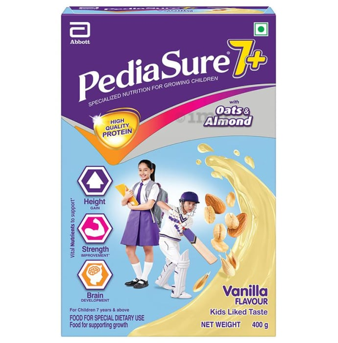 PediaSure 7+ Nutrition Drink Vanilla with Oats & Almond