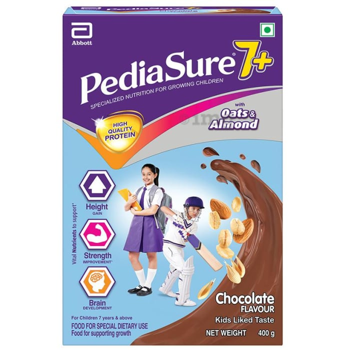 PediaSure 7+ Nutrition Drink Chocolate with Oats & Almond