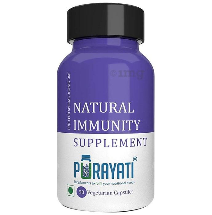 Purayati Natural Immunity Supplement Vegetarian Capsule