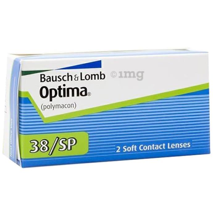 Bausch & Lomb Optima 38/SP Contact Lens Optical Power -2.25 Transparent Spherical
