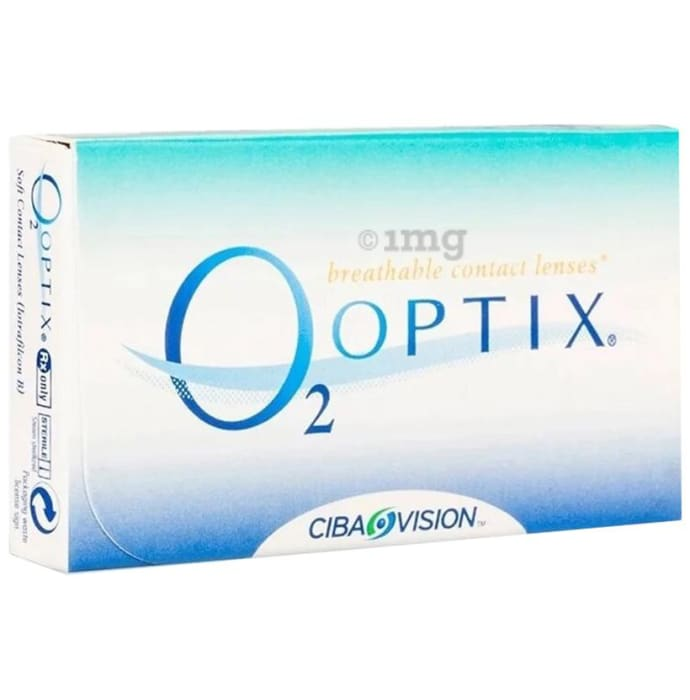 Alcon O2 Optix Breathable Contact Lens Optical Power -2.75 Transparent Spherical