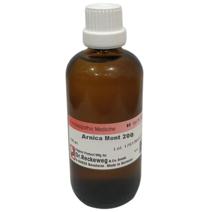 Dr. Reckeweg Arnica Mont Dilution 200 CH