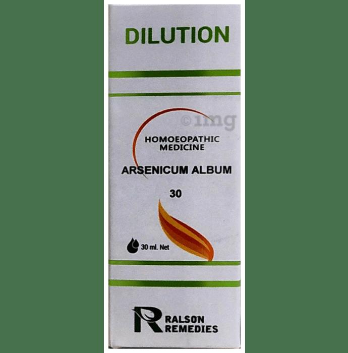 Ralson Remedies Arsenicum Album Dilution 30 CH