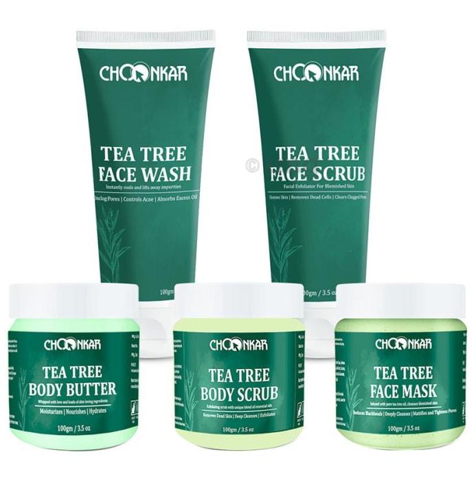 Choonkar Face & Body Care Range Tea Tree