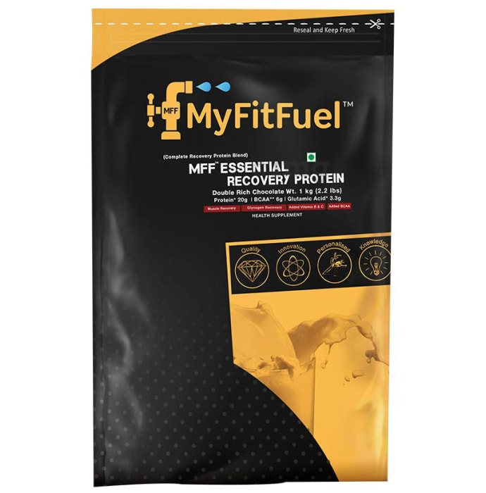 My FitFuel Essential Recovery Protein Powder Double Rich Chocolate