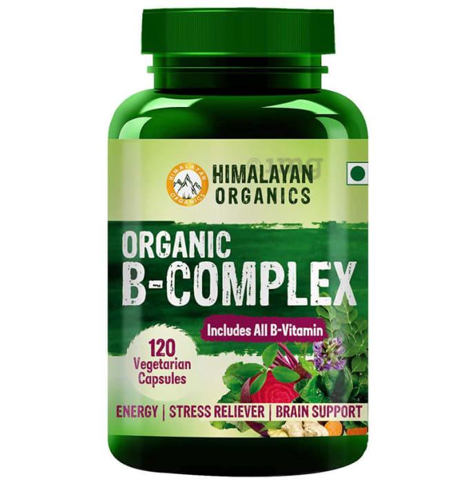 Himalayan Organics Organic B-Complex Vegetarian Capsule