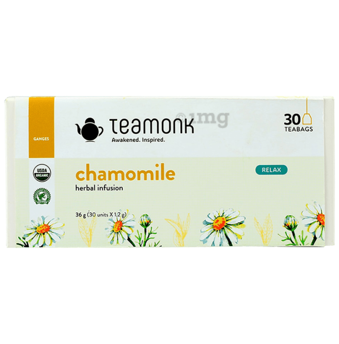 Teamonk Chamomile Herbal Infusion (1.2gm Each)