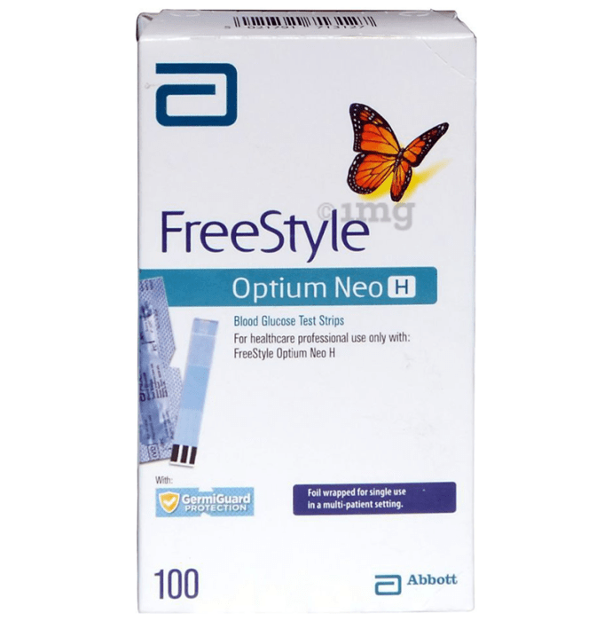 FreeStyle Optium Neo H Blood Glucose Test Strip