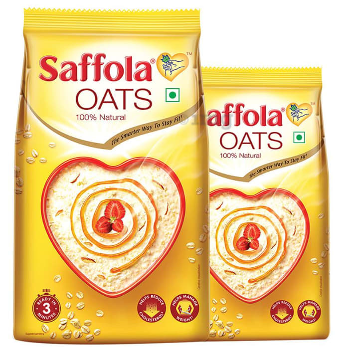 Saffola Oats 1kg with 400gm Free
