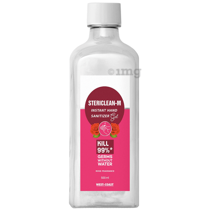 Stericlean-M Instant Hand Sanitizer Gel Rose Fragrance