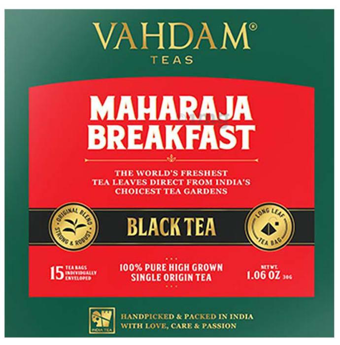 Vahdam Teas Black Tea (2gm Each) Maharaja Breakfast